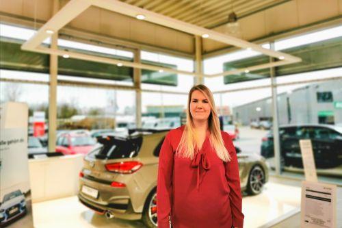 Franziska Lindemann Serviceassistentin Autohaus am Damm