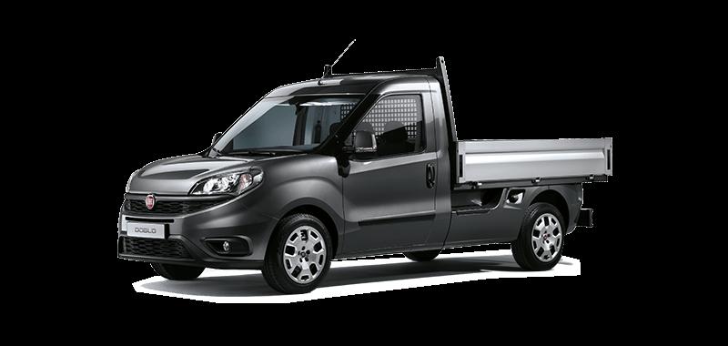 Fiat Doblo Cargo Workup - Pritschenwagen für den flexiblen Einsatz von Fiat Professional