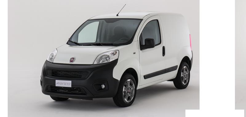 Der kleine Fiat Fiorino Cargo - Lieferfahrzeug von Fiat Professional