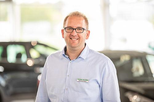 Sebastian Böse - Hyundai Markenverantwortlicher im Autohaus am Damm
