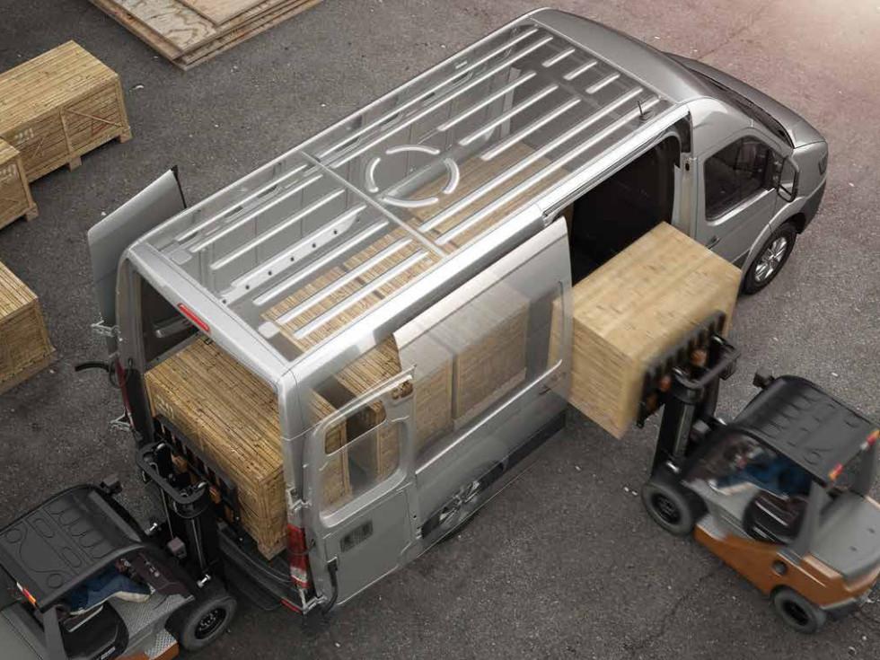 Miettransporter mit viel Stauraum - der Hyundai H350 Cargo