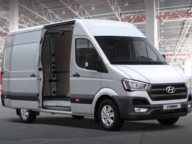 Der Hyundai H350 Cargo in unserer Transportervermietung
