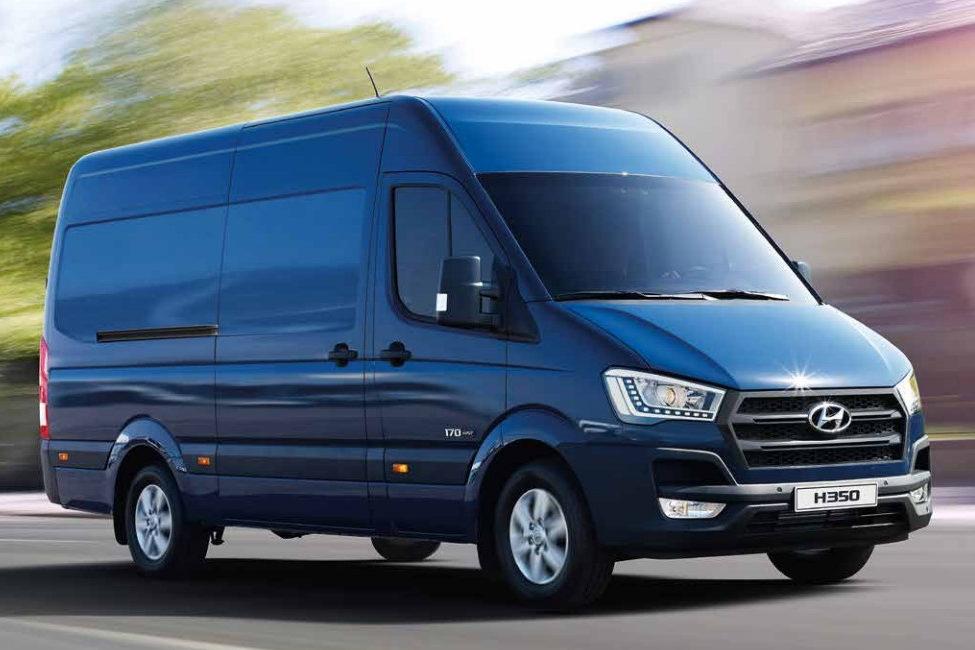 Einfach Transporter mieten für Umzug oder sonstiges. Der Hyundai H350 Cargo macht alles mit