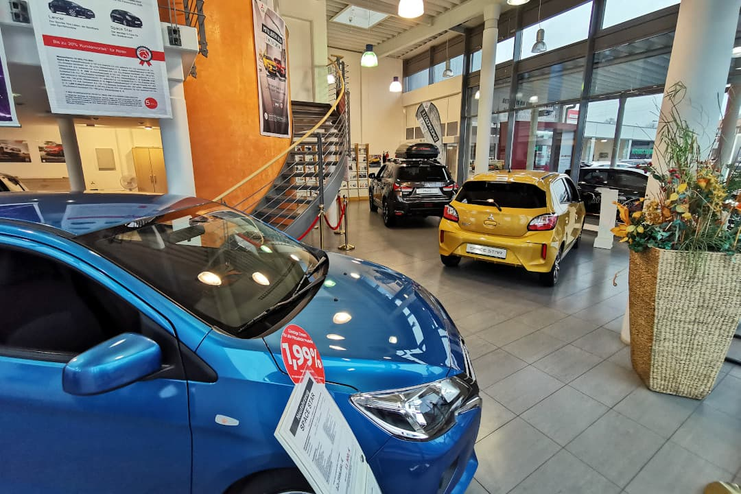 Neuwagen vom Autohaus am Damm finden Sie z. B. in unserer Mitsubishi-Filiale