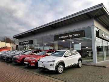 Die Hyundai-Filiale vom Autohaus am Damm in Nienburg/Weser