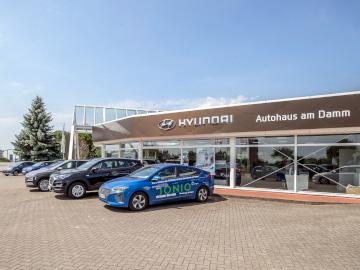 Standort der Hyundai-Filiale vom Autohaus am Damm in Sulingen
