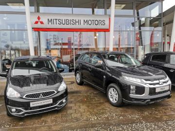 Mitsubishi Motors ist zusammen mit der Kia-Filiale ein Standort vom Autohaus am Damm