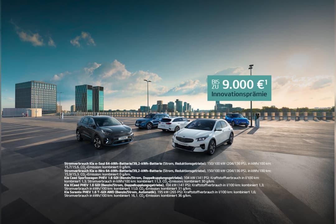 Kia Probefahrt - Aktion E-Mobilität und Innovationsprämie