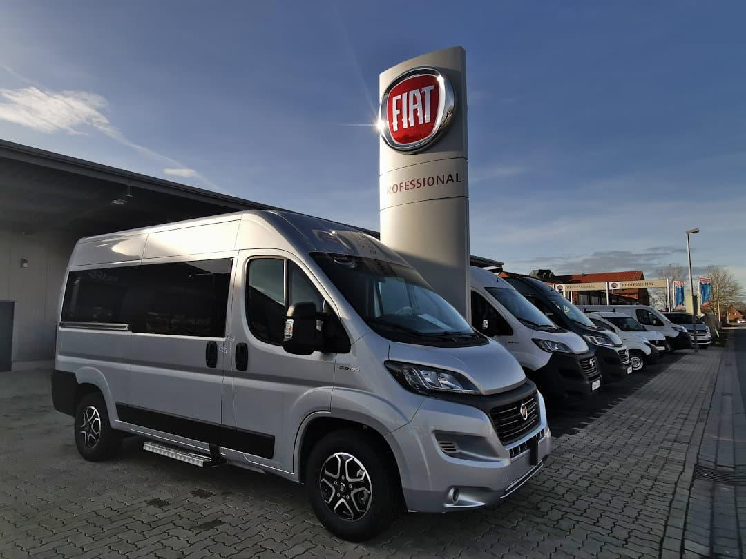 Nutzfahrzeuge von Fiat Professional - Transporter und Kleinbusse