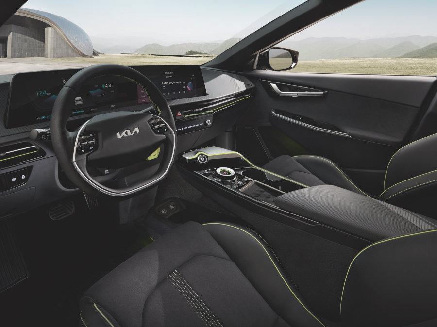 EV6 GT - Innenraum des E-Auto Sportwagens