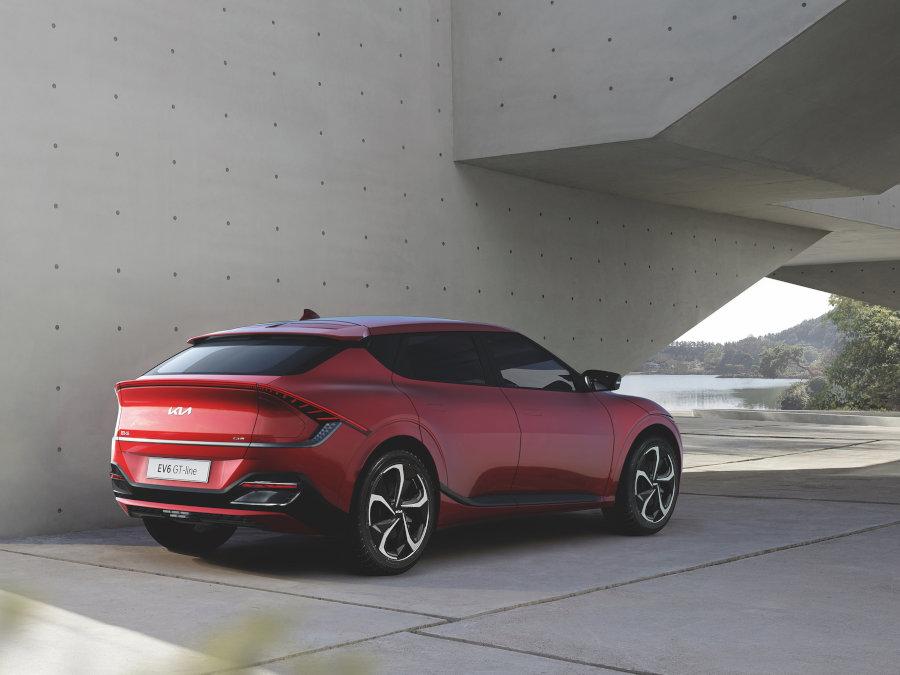 EV6 GT-Line - sportliches Aussehen mit Sonderausstattung